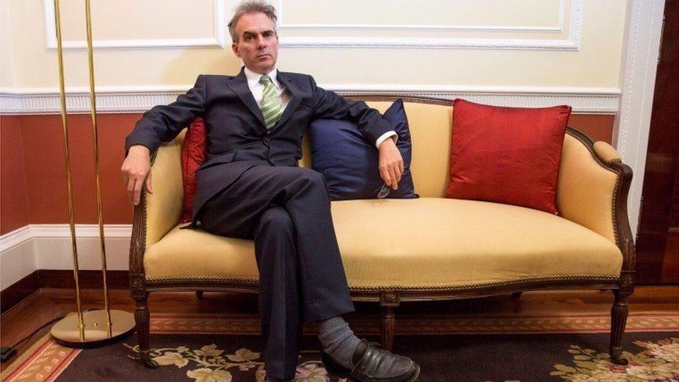 بن برودبنت (في الصورة) من المرشحين لخلافة محافظ بنك انجلترا الحالي، مارك كارني