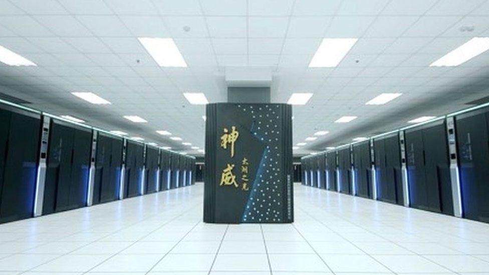 يحتل الكمبيوتر الخارق الصيني