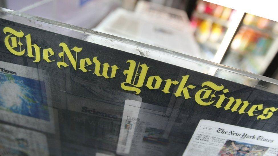 اعتذر موقع تويتر لصحيفة نيويورك تايمز بسبب غلق حسابها على الموقع عن طريق الخطأ