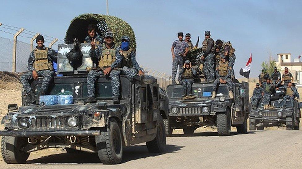 سيطرت القوات العراقية على مناطق كانت تحت سيطرة قوات البيشمركة