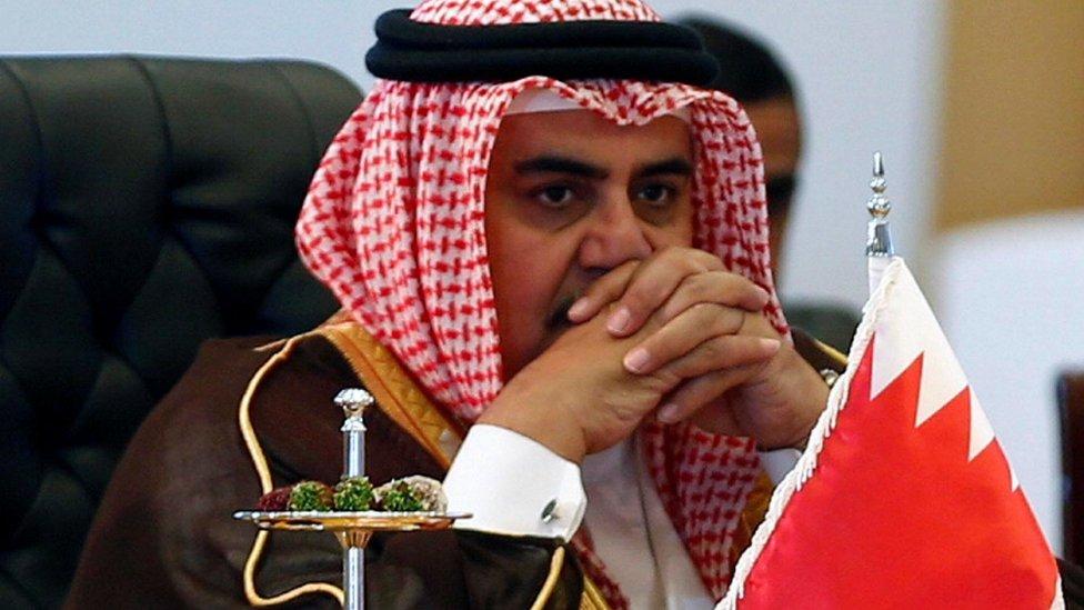 وزير خارجية البحرين لا يرى بأسا في خروج قطر من المجلس