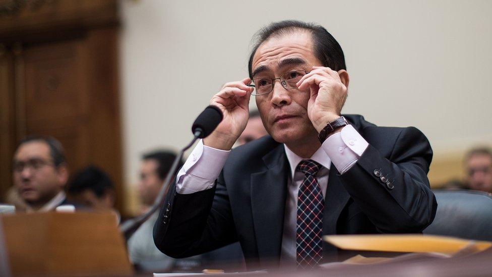 شغل تاي يونغ-هو منصب نائب سفير كوريا الشمالية في بريطانيا