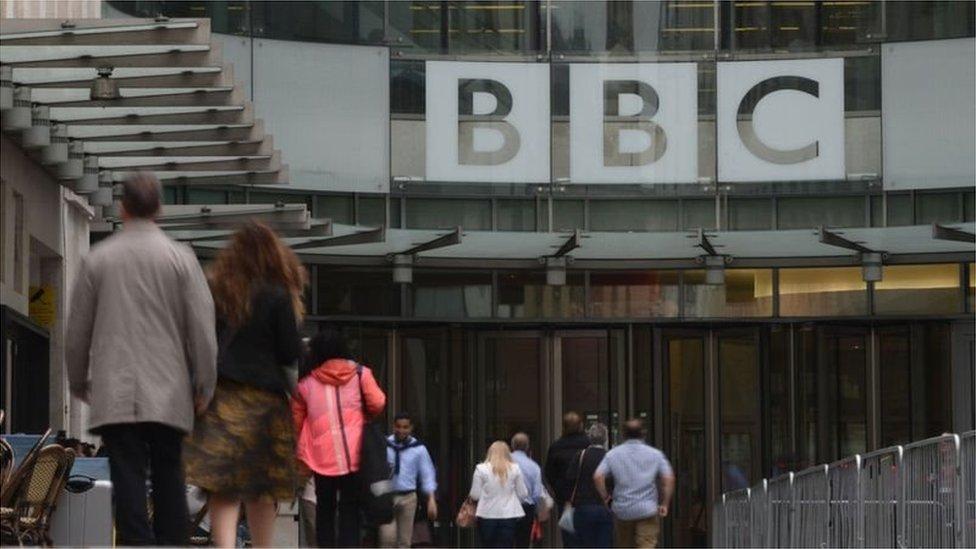 لا يُعتقد بأن جميع الحالات تطال موظفين حاليين في بي بي سي