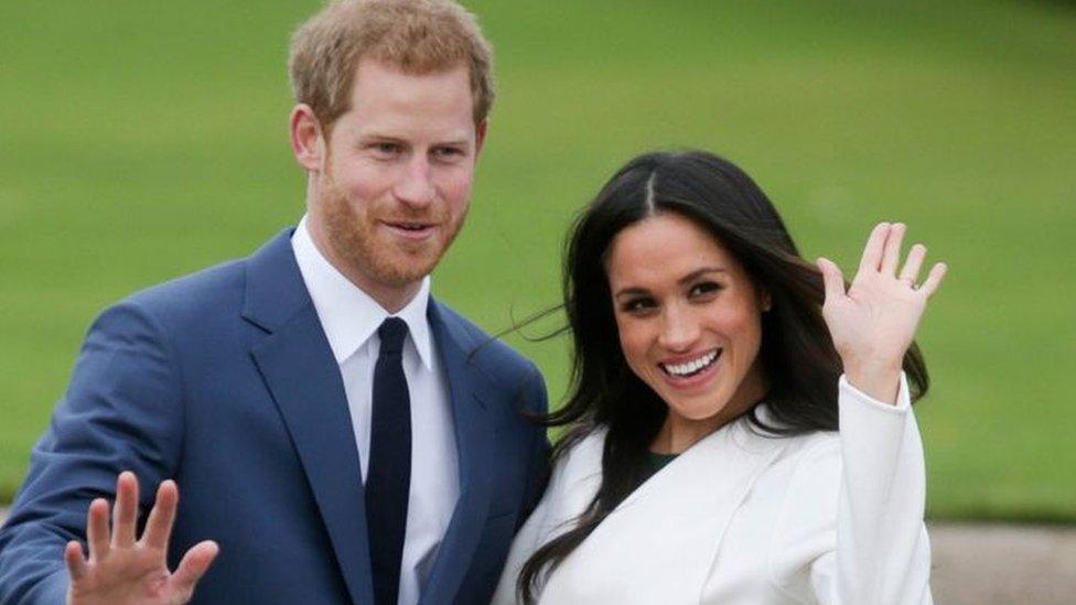 أعلن الأمير هاري وميغان عن خطوبتهما في نوفمبر/تشرين الثاني