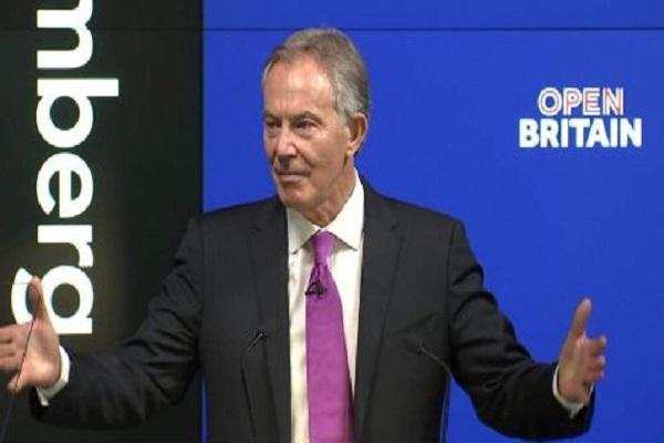 رئيس الوزراء البريطاني السابق، توني بلير