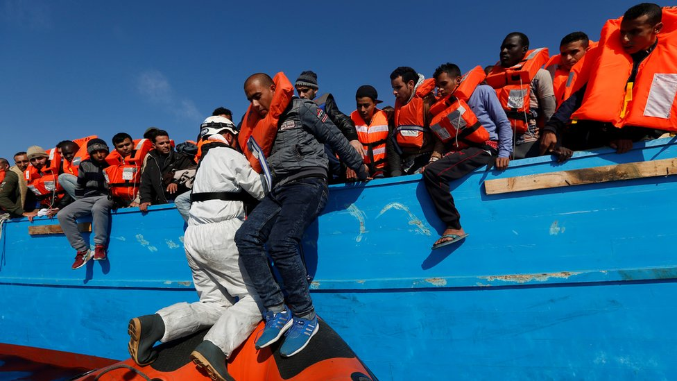 خلال عام 2014 لقي أكثر من 650 شخصا مصرعهم خلال رحلتهم المحفوفة بالمخاطر في عرض البحر المتوسط