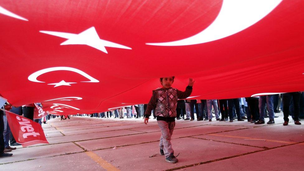 الاستفتاء يقر تحويل نظام الحكم في تركيا إلى نظام رئاسي بدل البرلماني