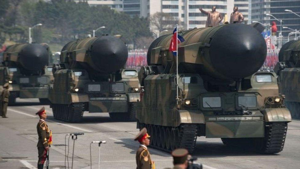 قالت قيادة الجيش الأمريكي في منطقة المحيط الهادي إن المسافة التي قطعها الصاروخ في التجربة الأخيرة لا تتناسب مع المدى المعروف للصواريخ الباليستية العابرة للقارات