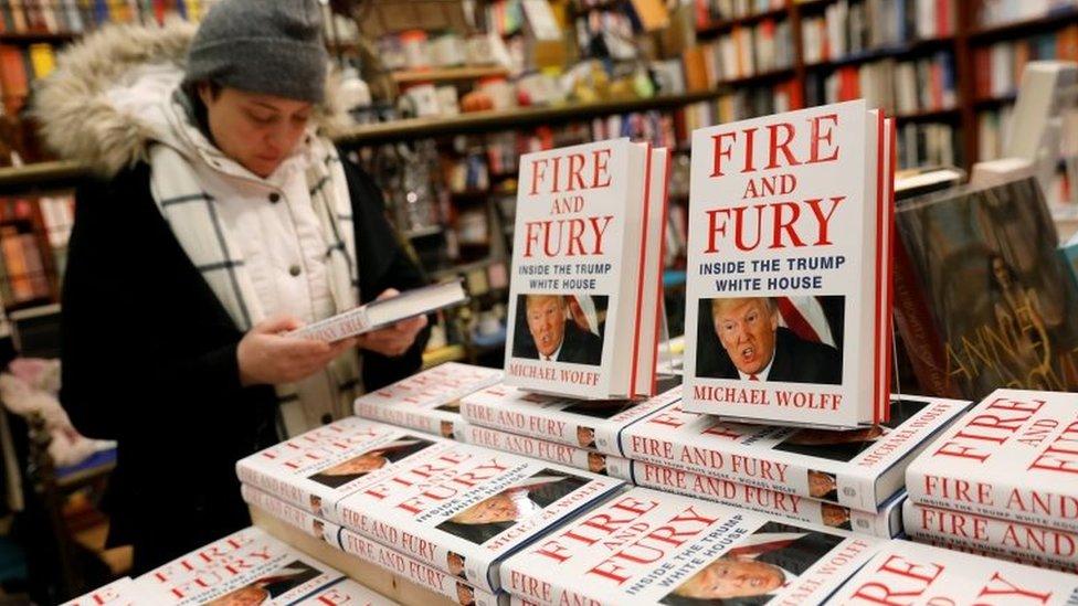حاول الرئيس دونالد ترامب منع نشر الكتاب