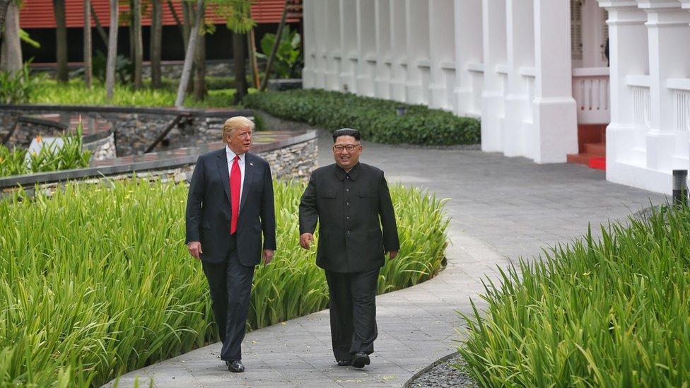 ترامب وكيم عقدا لقاء غير مسبوق