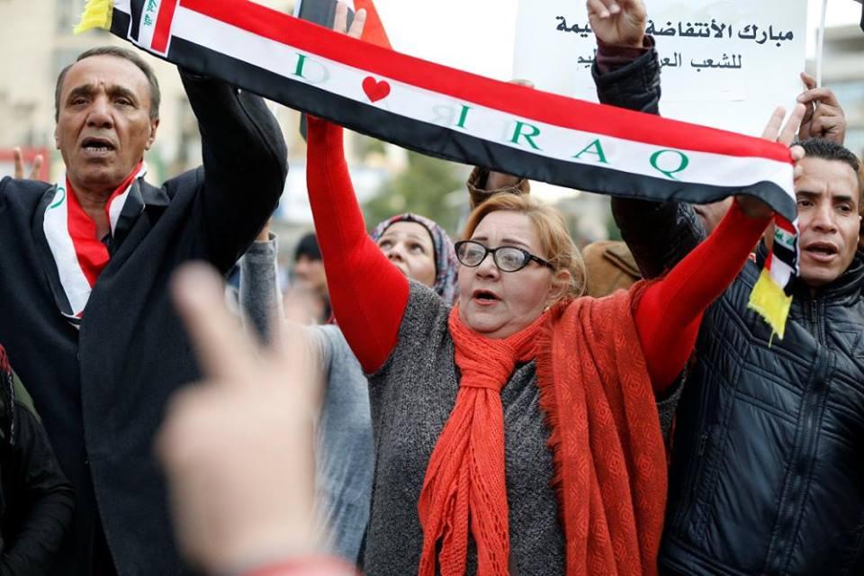 شعراء العراق يستلهمون ابياتهم من الاحتجاجات