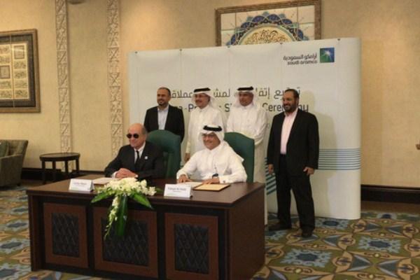 أرامكو توقع اتفاقيات لتطوير مرافق في انتاج حقول النفط والغاز