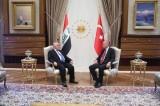 العبادي مجتمعًا في أنقرة مع أردوغان