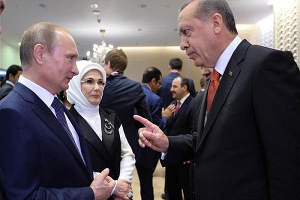 توبيخ بوتين لسفير إردوغان .. القصة الكاملة
