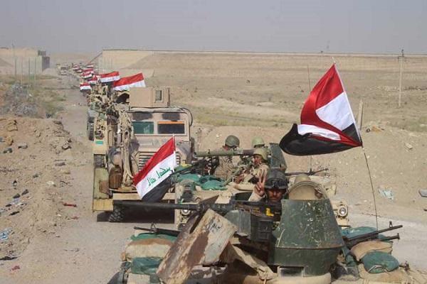 قوات عراقية تتقدم نحو الموصل