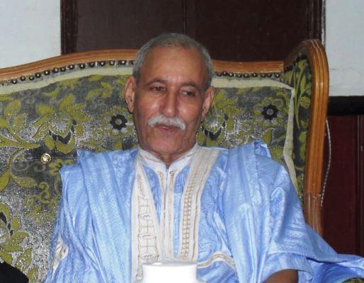 إبراهيم غالي أمين عام جبهة البوليساريو