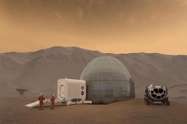 كوخ قد يكون مسكنا على المريخ