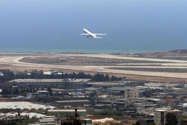 حركة الطيران المدني في مطار بيروت الدولي كانت معرضة للخطر