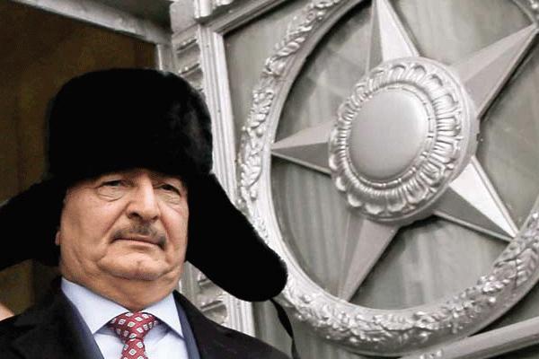 حفتر خلال زيارته موسكو في نوفمبر 2016