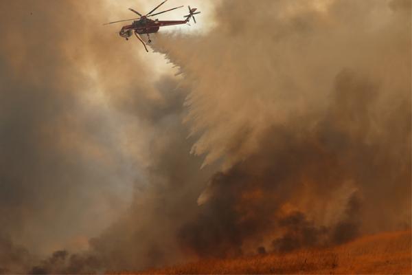 الحريق في كاليفورنيا