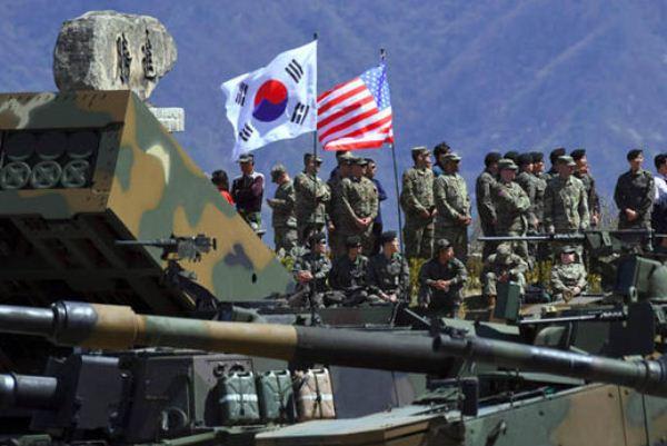 مناورات عسكرية أميركية كورية جنوبية