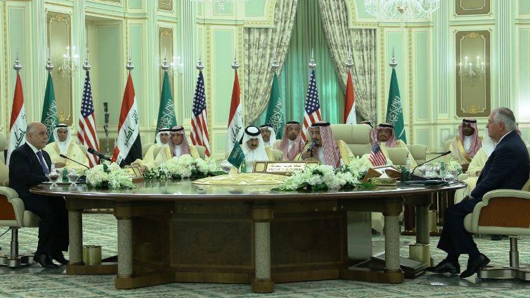 العبادي والملك سلمان يترأسان الاجتماع الاول للمجلس التنسيقي العراقي السعودي
