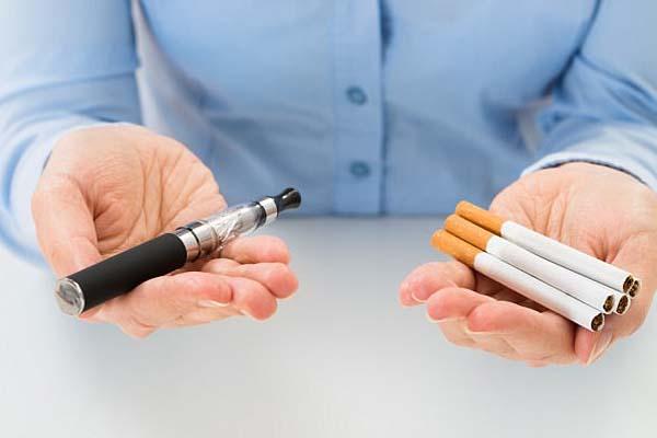 السجائر الإلكترونية تضر بالصحة