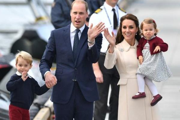 الأمير وليام وعائلته