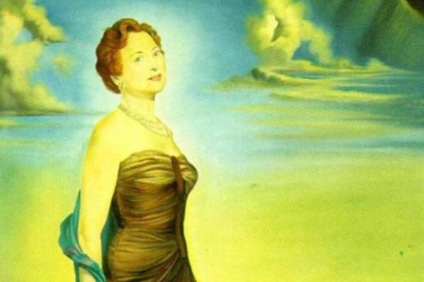 لوحة الليدي ريفز للفنان سيلفادور دالي