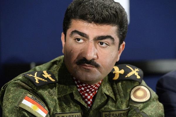 سيروان بارزاني قائد البيشمركة الكردية