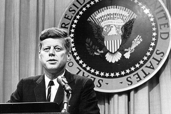 الرئيس جون كينيدي