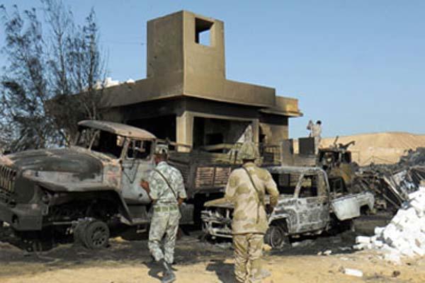 عملية ارهابية ضد قوات الجيش المصري ـ أرشيفية