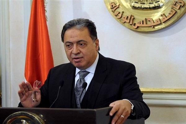 الدكتور أحمد عماد الدين وزير الصحة المصري