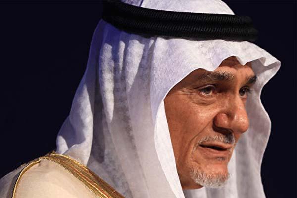 تركي الفيصل وتأكيد على مبادرة السلام