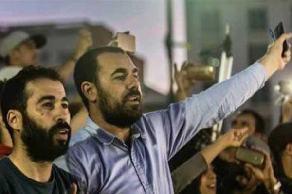 ناصر الزفزافي أحد متزعمي احتجاجات الحسيمة