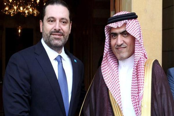 سعد الحريري مع ثامر السبهان