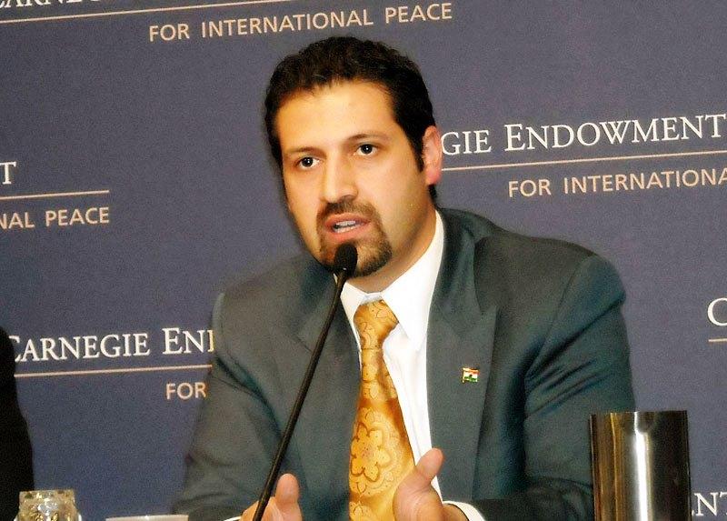 نائب رئيس حكومة كردستان قوباد طالباني