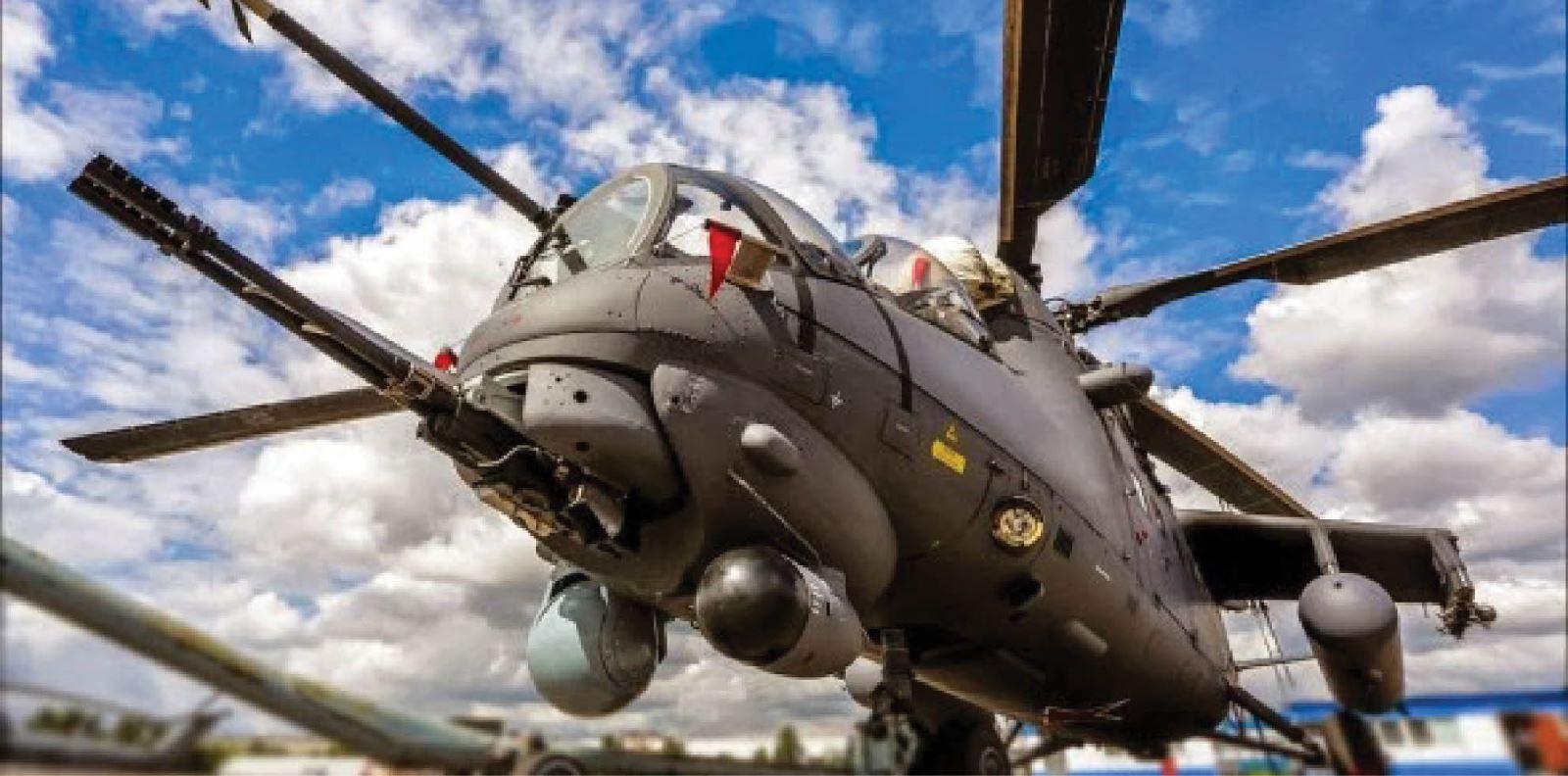 هيلكوبتر روسية في سماء العراق