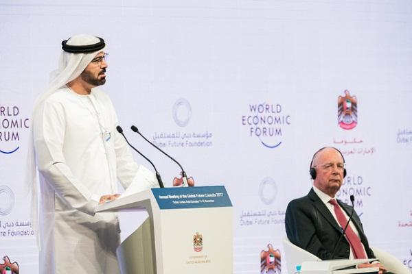 وزير شؤون مجلس الوزراء والمستقبل محمد القرقاوي