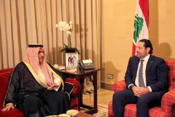 السبهان والحريري في لقاء سابق
