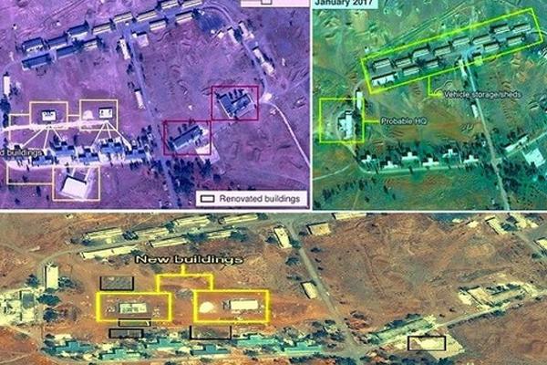 صور تظهر أن إيران تنشئ قاعدة عسكرية في سوريا