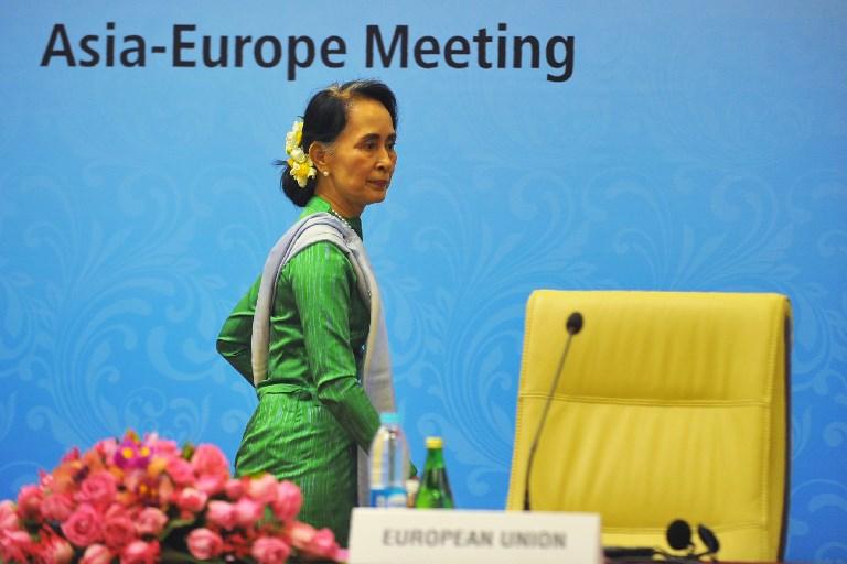 الزعيمة البورمية اونغ سان سو تشي