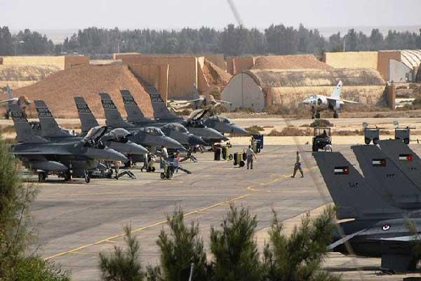 جانب من قاعدة بدر السلطي الأردنية