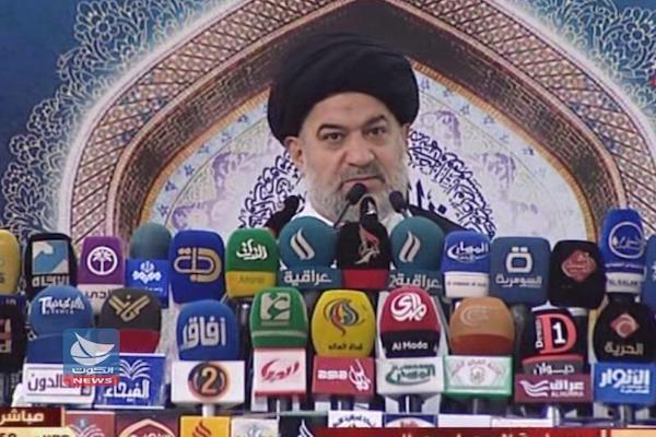 احمد الصافي معتمد السيستاني يلقي خطبة الجمعة في كربلاء