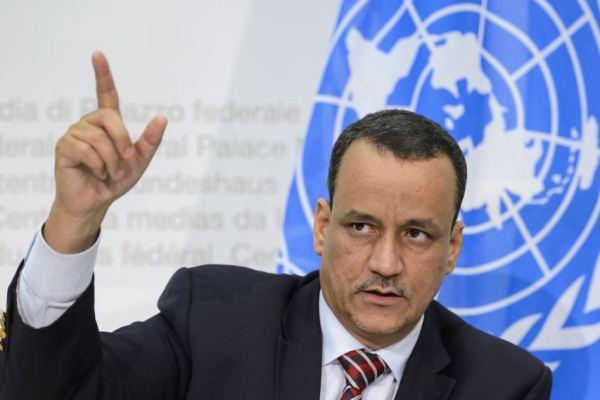 المبعوث الأممي الخاص إلى اليمن إسماعيل ولد الشيخ أحمد