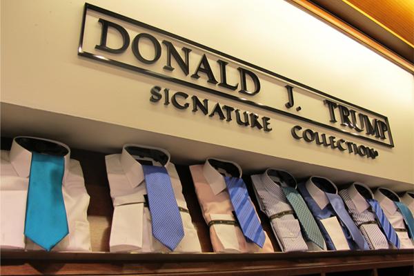 التوقف عن بيع منتجات شركات الرئيس الأميركي دونالد ترامب