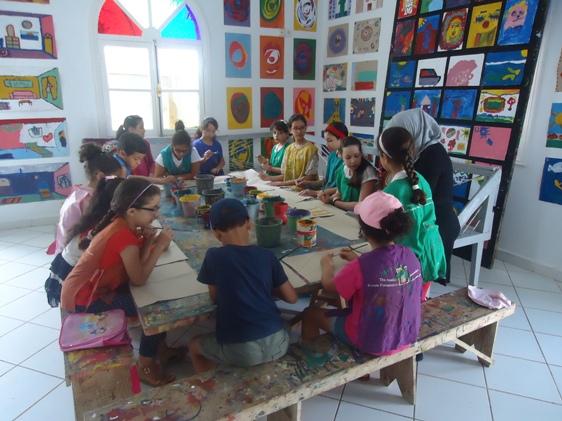 فعاليات المنتدى الثقافي لمدينة أصيلة شهدت اهتماما بالفن التشكيلي للأطفال