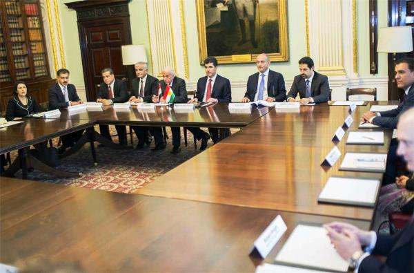 اجتماع لحكومة كردستان العراق