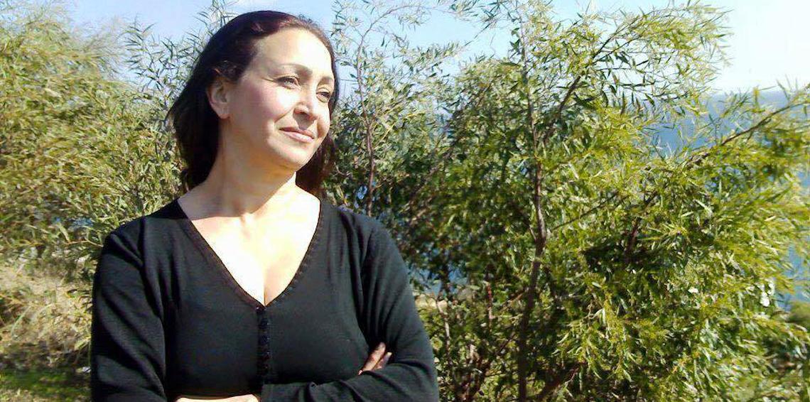 الناشطة الامازيغية المغربية مليكة مزان