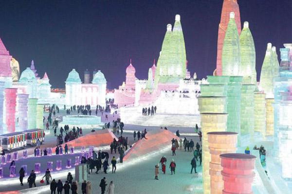 مهرجان الجليد في الصين